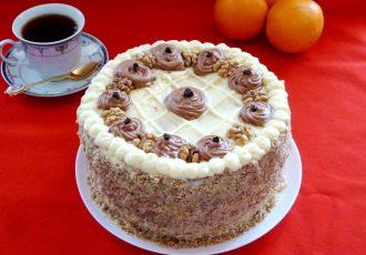 """Бакинский ореховый торт """"Апшерон"""""""