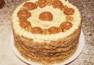 Бакинский ореховый торт