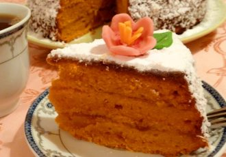 Постный торт
