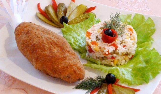 Котлеты по - киевски (классический рецепт)