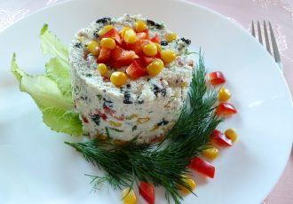 Сыроедческий НЕ КРАБОВЫЙ салат!