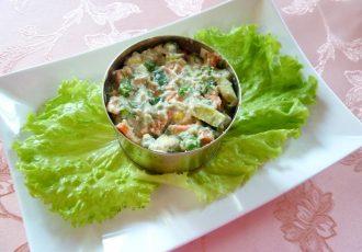 Сыроедческий салат